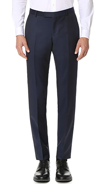 Z Zegna Drop 8 Wool Mohair Blend Suit