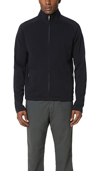 Z Zegna Techmerino Full Zip Sweatshirt