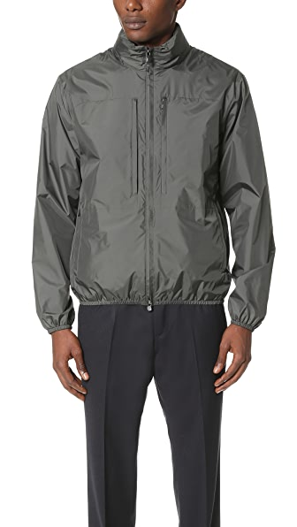 Z Zegna Lightshell Packable Hooded Jacket
