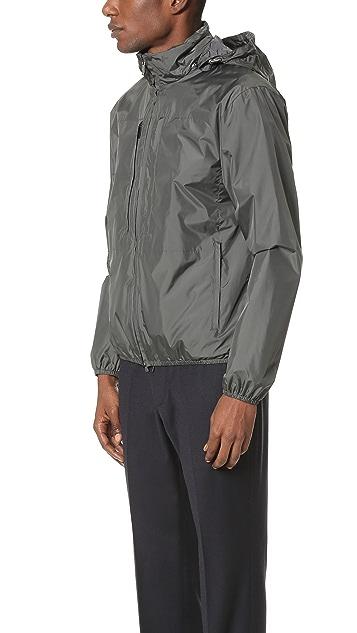 Z Zegna Lightshell Packable Hooded Jacket