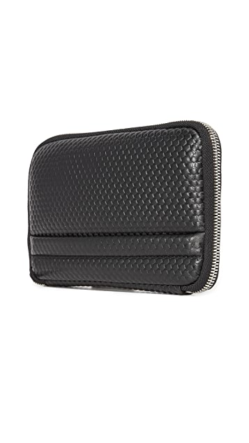 Z Zegna Pixel Travel Wallet
