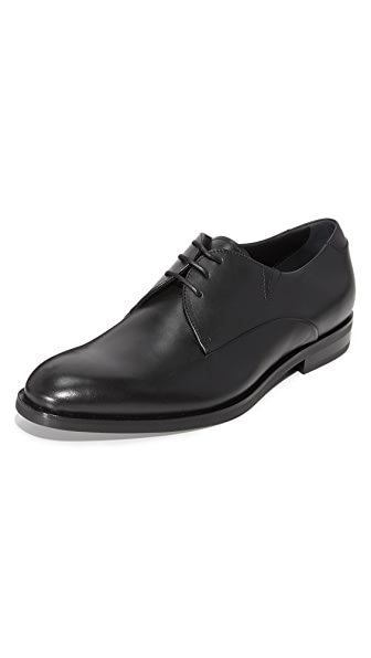 Z Zegna Parson Plain Toe Derby Shoes