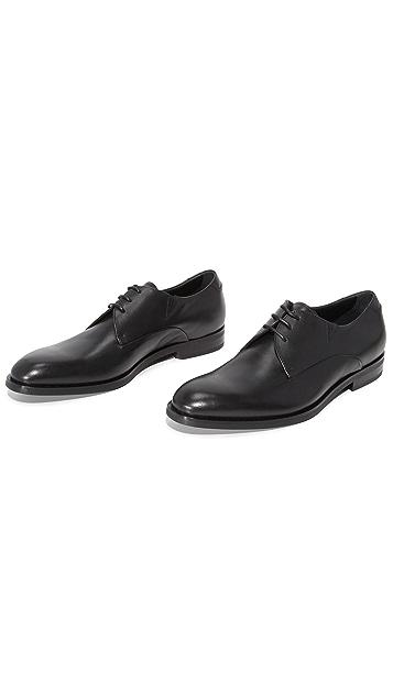 Z Zegna Parson Plain Toe Derby Shoes