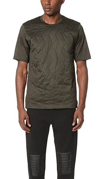 Z Zegna Padded Front Mercerized Tee