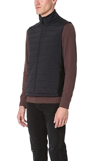 Z Zegna Techmerino Fleece Vest