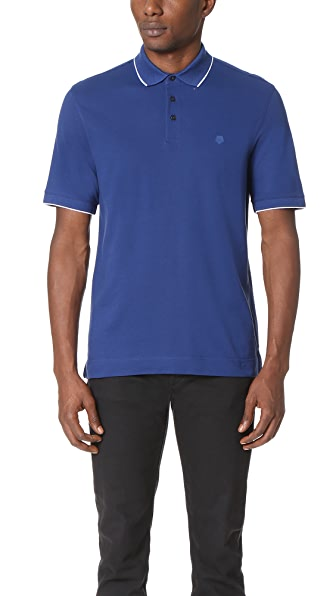 Z Zegna Cotton Pique Polo