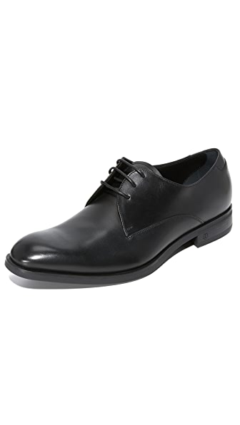 Z Zegna Parsons Plain Toe Derby Shoes
