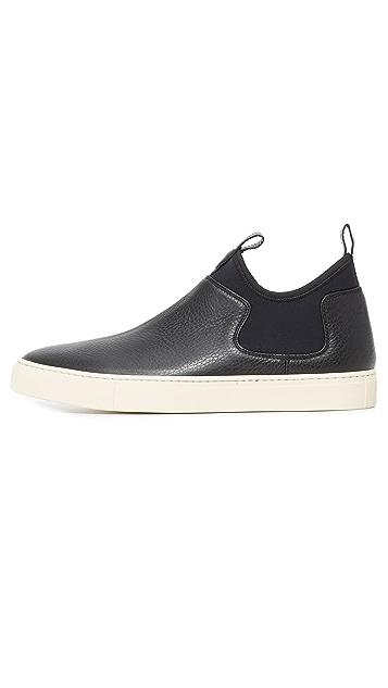 Z Zegna California Scuba Pull On Sneakers