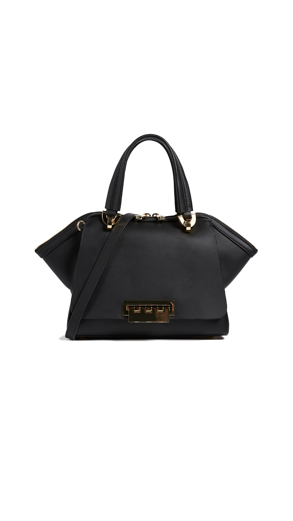 ZAC Zac Posen Eartha Small Double Handle Bag - Black