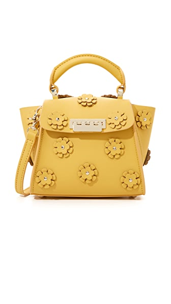 ZAC Zac Posen Embellished Eartha Top Handle Mini Bag