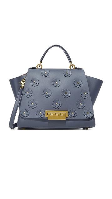 ZAC Zac Posen Eartha Iconic Soft Top Handle Floral Bag