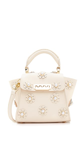 ZAC Zac Posen Eartha Floral Top Handle Mini Cross Body Bag