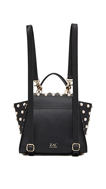 ZAC Zac Posen Eartha Imitation Pearl Lady Convertible Backpack