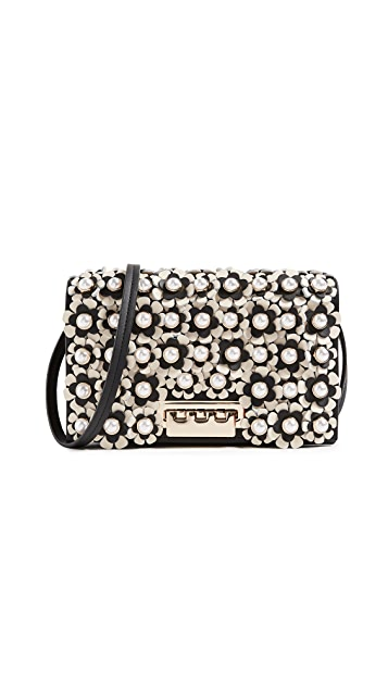 ZAC Zac Posen Earthette Floral Cross Body Bag