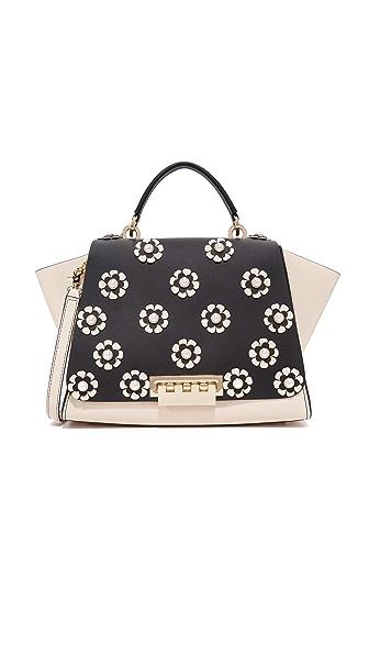ZAC Zac Posen Eartha Floral Soft Top Handle Bag