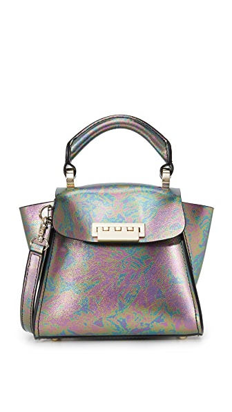 ZAC Zac Posen Eartha Mini Top Handle Bag - Petrol