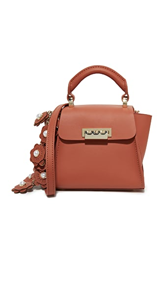 ZAC Zac Posen Eartha Mini Top Handle Bag In Coral