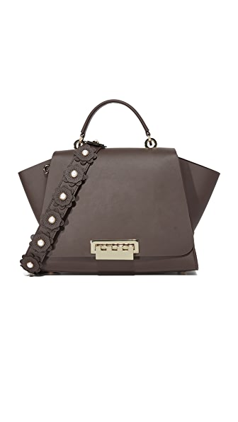 ZAC Zac Posen Eartha Soft Top Handle Bag - Urchin