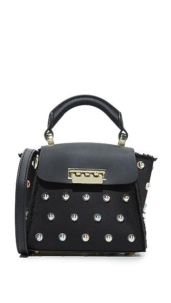 ZAC Zac Posen Eartha Iconic Mini Top Handle Bag - Black