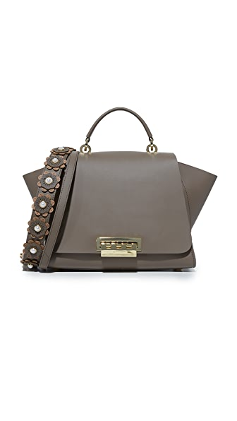 ZAC Zac Posen Eartha Iconic Soft Top Handle Satchel - Mockingbird