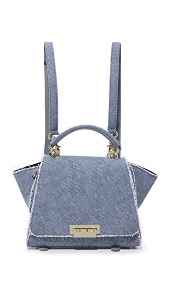 ZAC Zac Posen Eartha Iconic Soft Top Handle Convertible Backpack - Jean