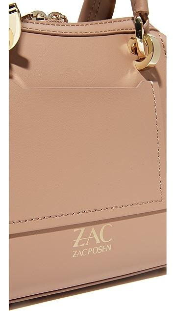 ZAC Zac Posen Eartha Iconic Mini Double Handle Bag