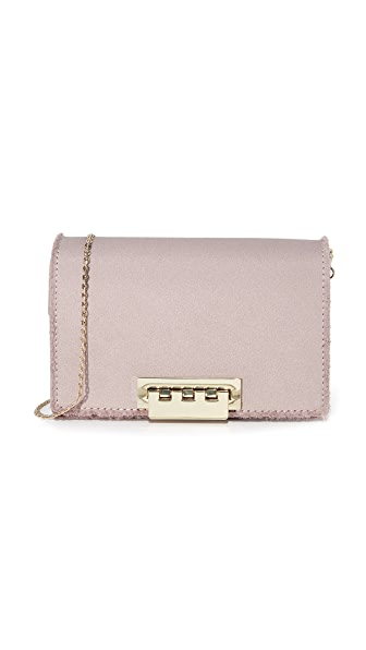 ZAC Zac Posen Earthette Accordion Cross Body Bag - Chateau