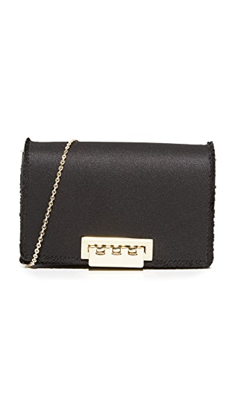 ZAC Zac Posen Earthette Accordion Cross Body Bag - Black