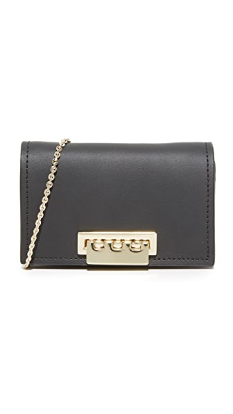 ZAC Zac Posen Earthette Card Case - Black
