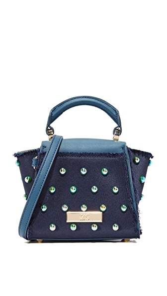 ZAC Zac Posen Eartha Iconic Mini Top Handle Bag - Jean
