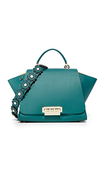 ZAC Zac Posen Eartha Iconic Soft Top Handle Satchel - Teal