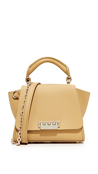 ZAC Zac Posen Eartha Iconic Soft Mini Top Handle Bag - Oat