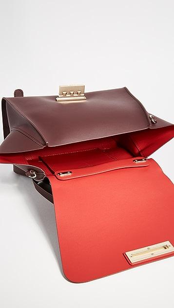 ZAC Zac Posen Eartha Iconic Soft Top Handle Convertible Backpack