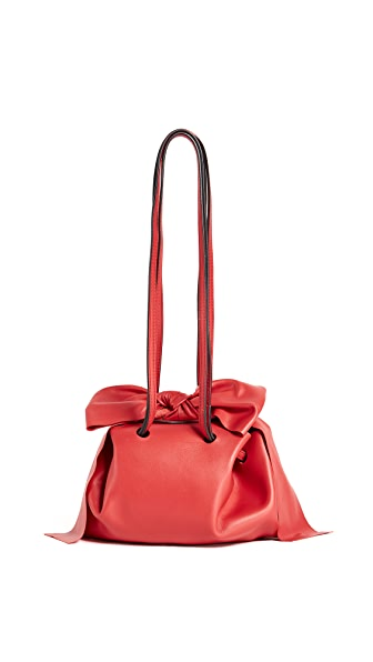 ZAC Zac Posen Soiree Pouchette Cross Body Bag In Geranium