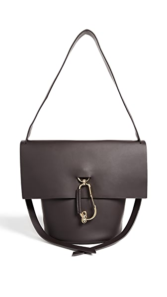 ZAC Zac Posen Belay Shoulder Bag In Shadow
