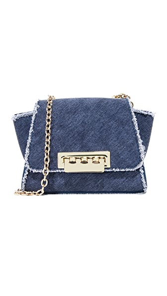 ZAC Zac Posen Eartha Iconic Mini Cross Body Bag - Denim