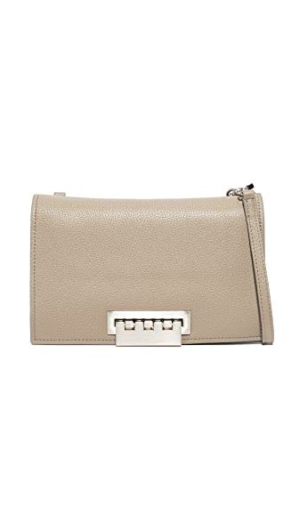 ZAC Zac Posen Pebble Eartha Relaxed Cross Body Bag - Seagull