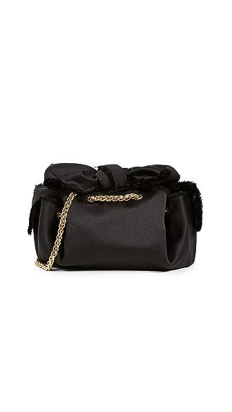 ZAC Zac Posen Soiree Cross Body Bag In Black