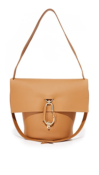 ZAC Zac Posen Belay Shoulder Bag - Camel
