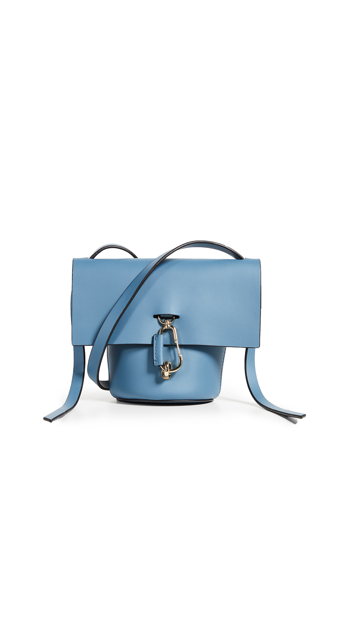 ZAC Zac Posen Belay Mini Cross Body Bag In Denim