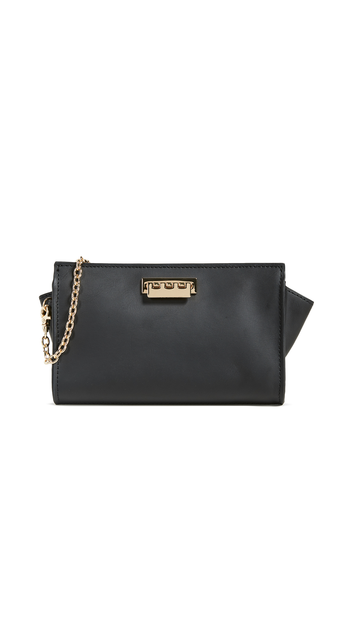 Eartha Iconic Phone Wallet Crossbody Bag in Black