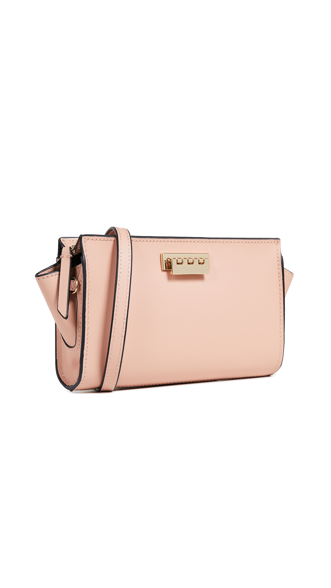 Eartha Iconic Phone Wallet Crossbody Bag in Rose Cloud