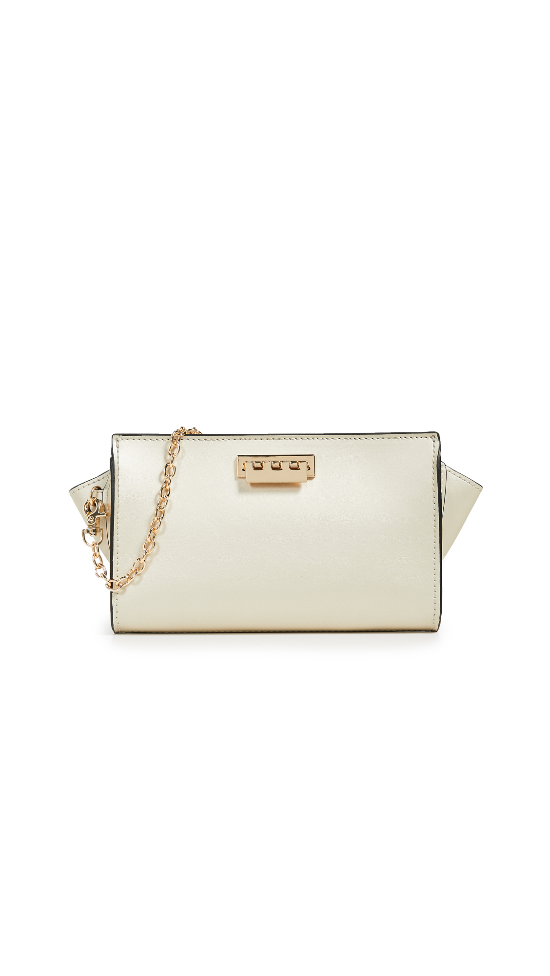 Eartha Iconic Phone Wallet Crossbody Bag in Champagne