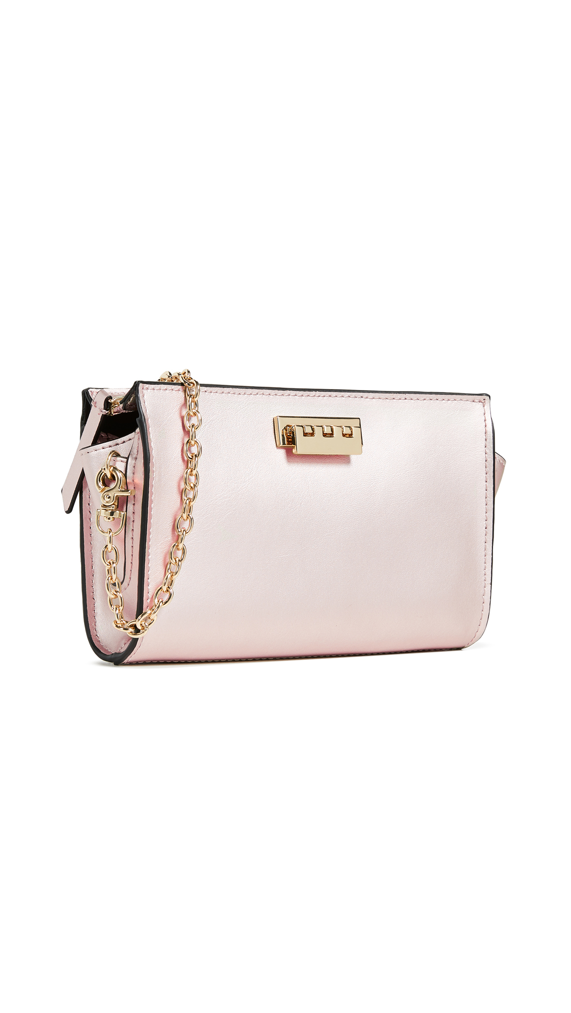 Eartha Iconic Phone Wallet Crossbody Bag in Rose