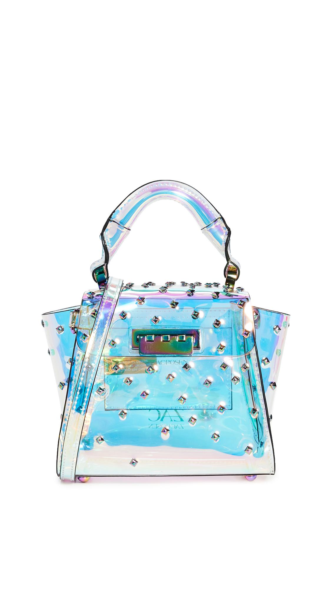Zac Zac Posen Eartha Mini Top Handle Bag In Iridescent Constellation