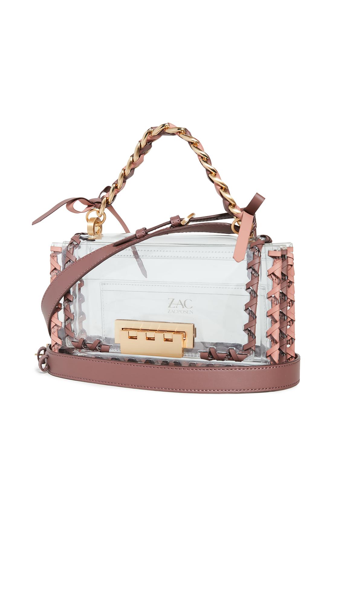 Buy ZAC Zac Posen online - photo of ZAC Zac Posen Earthette Chain Top Shoulder Bag