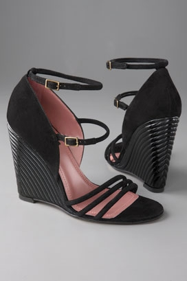 Derek Lam Astrid Wedge with Tube Detail from shopbop.com
