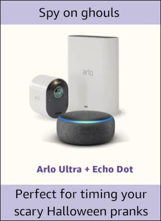 Arlo Ultra + Echo Dot
