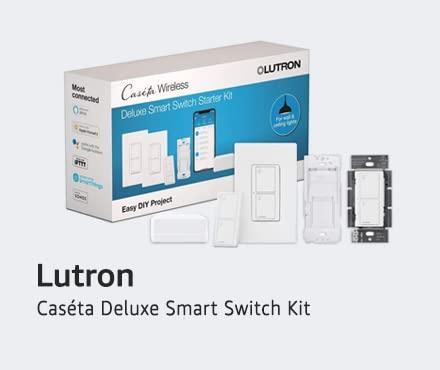 Lutron Caseta Deluxe Smart Switch Kit