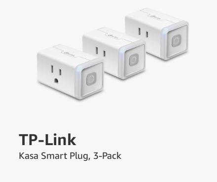 TP-Link. Kasa Smart Plug, 3-Pack